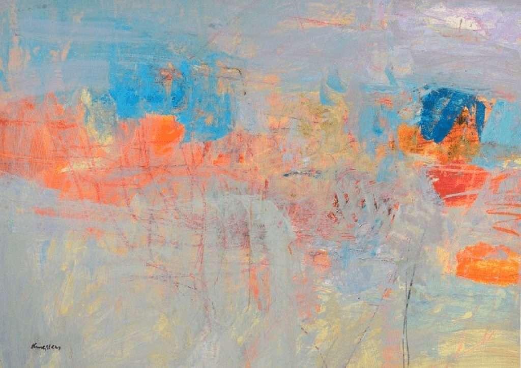John Kingsley, 'Canticle', watercolour