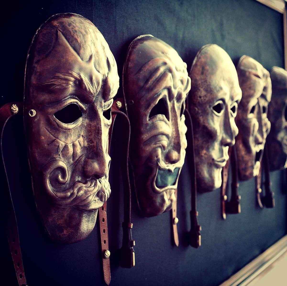 Masks by Jaxx Waygood