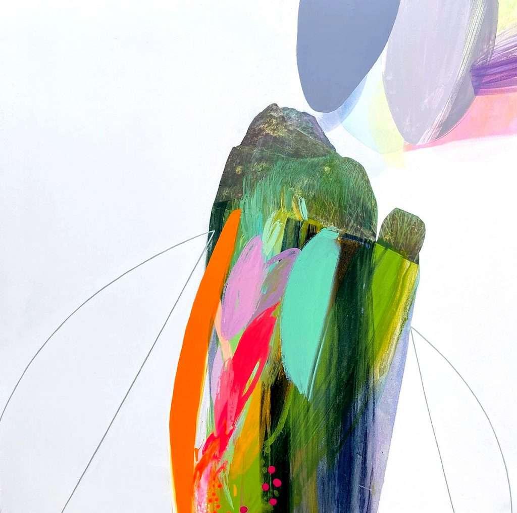 Rowan Paton, 'Shored', acrylic, print collage on canvas