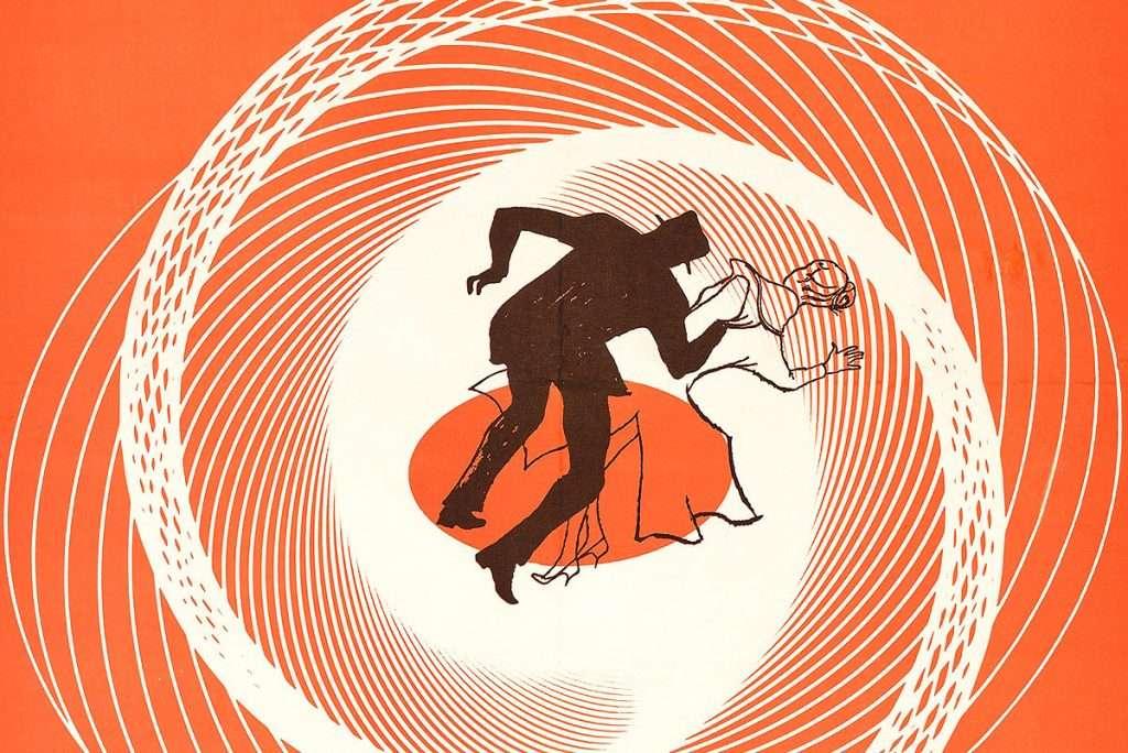 Saul Bass, 'Vertigo', offset lithographic poster